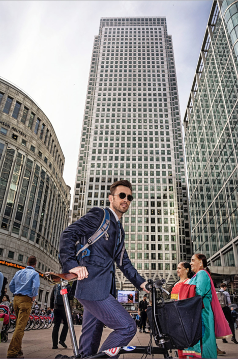 Businessfotos Bankmanager in London