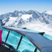 Obergurgl-Hochgurgl Skifahrer Panorama