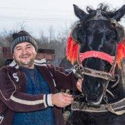 Fotos Bauer und Pferd in Rumaeninen
