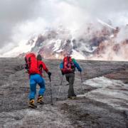 Sportfotografie- Alpinisten