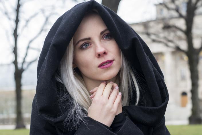 Outdoor Fotoshooting München Nonne