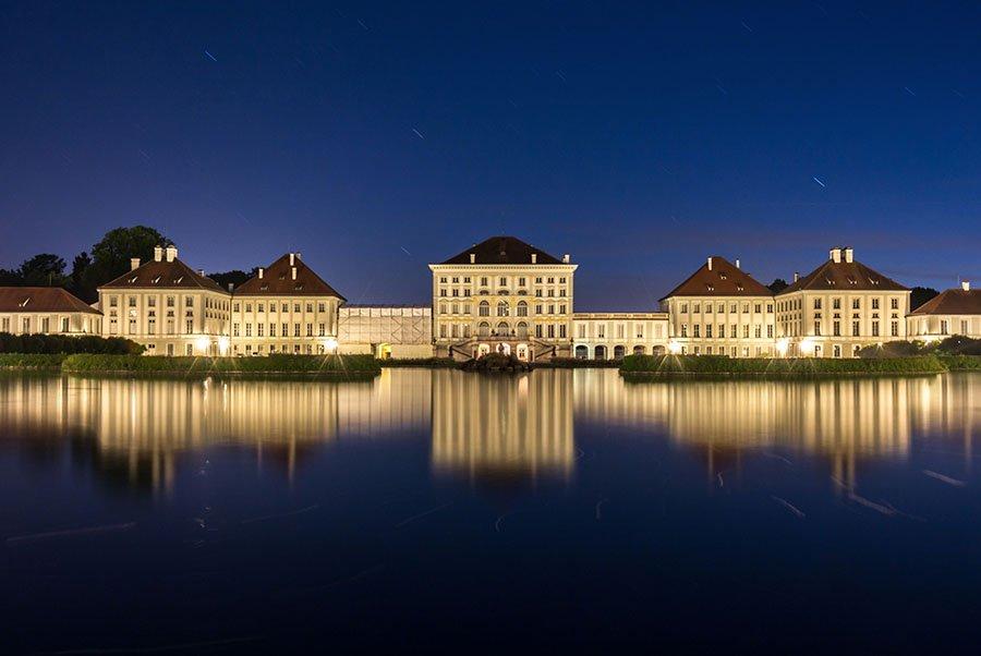Nymphenburgschloss Langzeitbelichtung München
