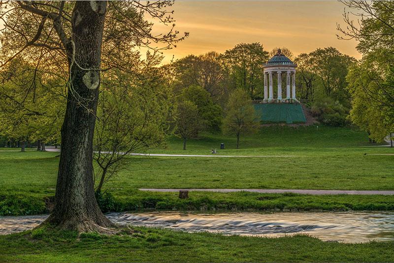 Englischer Park München Foto