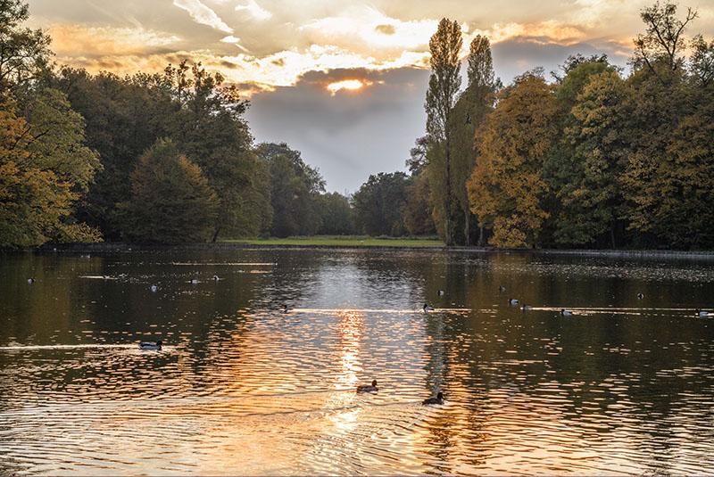 Nymphenburgpark München Fotos