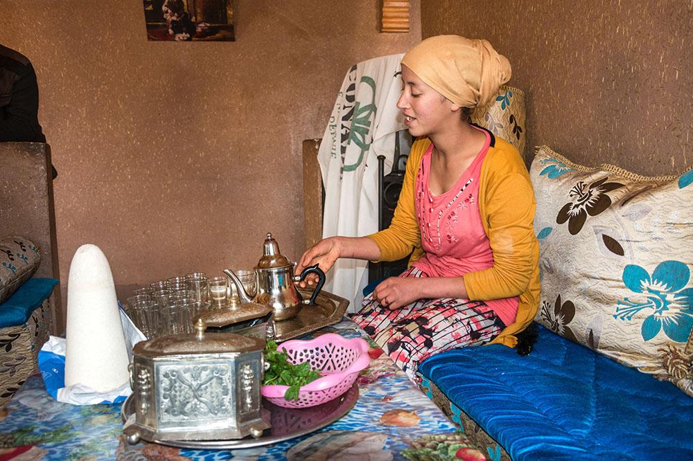 Portraitfotos Frau Marokko