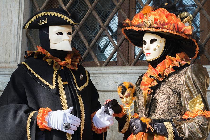 Reisefotografie Venedig Karneval