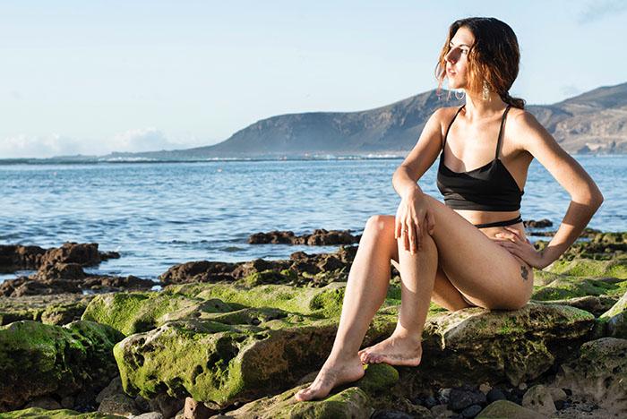 Reisefotografie Junge Frau Gran Canaria