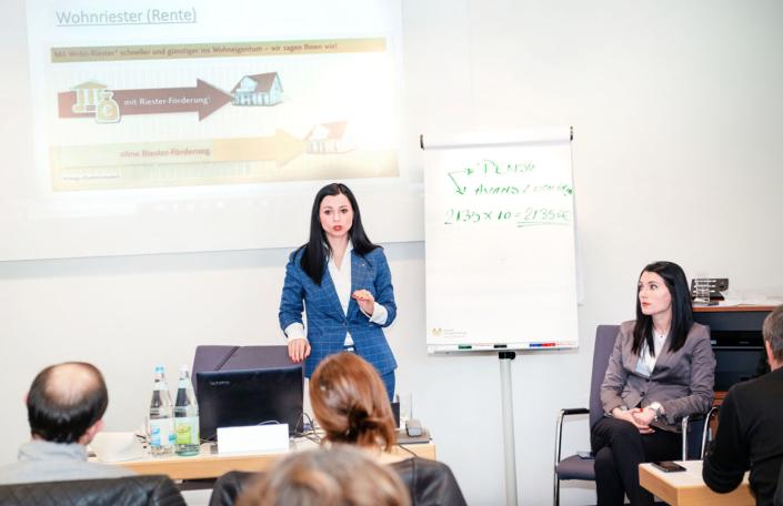 Deutsche Vermögensberatung Business Meeting